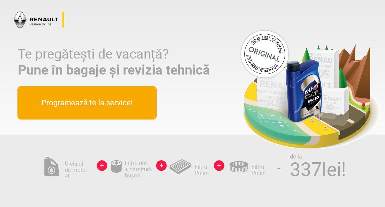 Campanie revizii vacanţă Renault