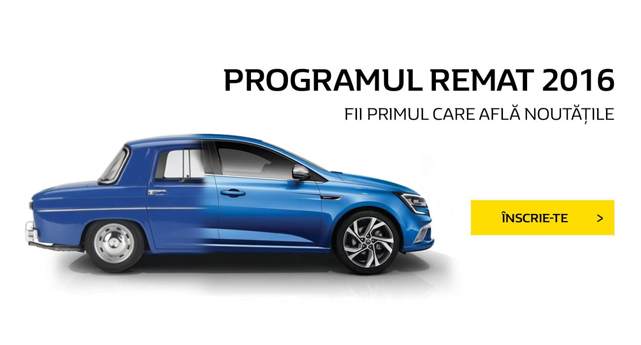 Programul Rabla 2016 Renault